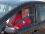 Bruce Ashman - Instructing for Toyota Teen Driving Program in Los Angeles, CA