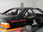 New Race Car Under Construction.by Bruce Ashman