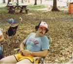 1979 10th Reunion Picnic, Bill Rowley. by Ed Wills